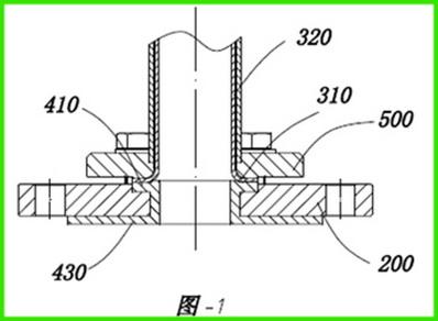 一种内衬防腐型顶装磁翻板液位计的结构