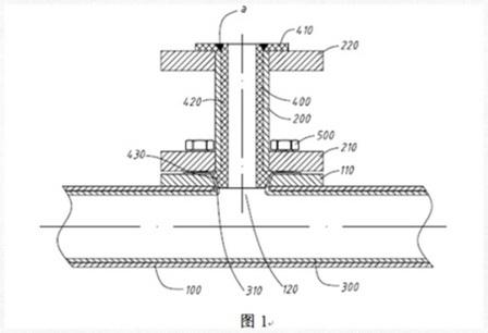 防腐型磁翻板液位计及其连接小管内衬的加工方法